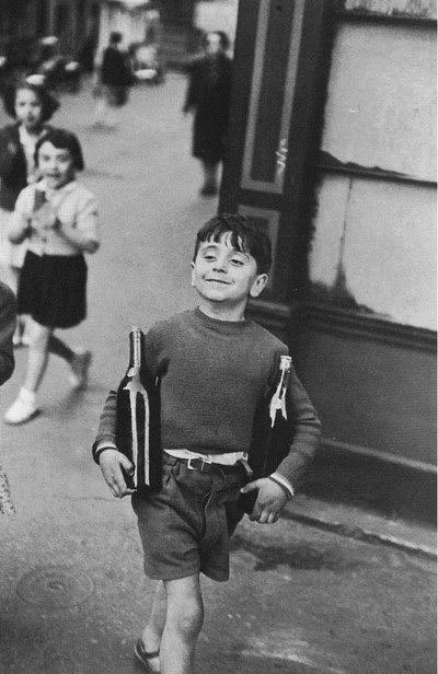 Henry Cartier Bresson - Rue Mouffetard foto de1954