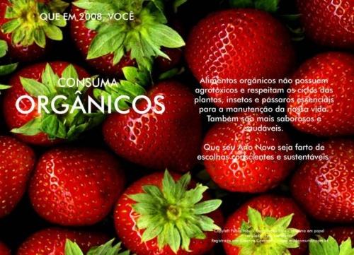 Consuma mais orgânicos