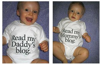 Bebês e seus blogs