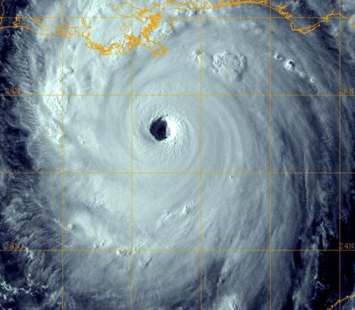 O furacão katrina