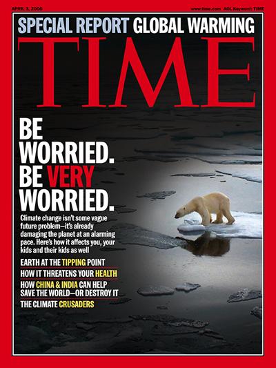 Revista Time e o aquecimento global