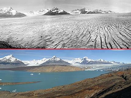 O deserto da patagonia
