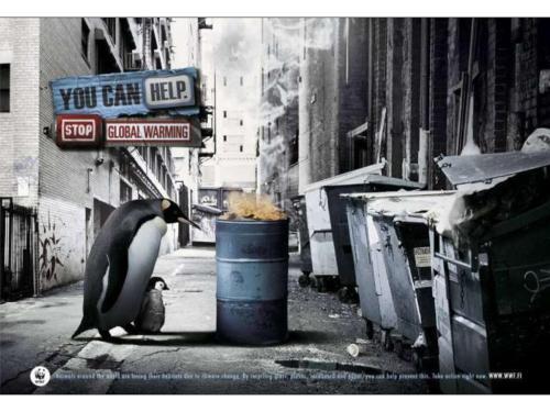 pare o aquecimento global - campanha WWF