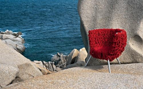 A cadeira vermelha dos Irmãos Campana