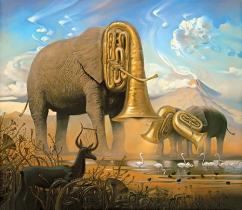 O elefante e seu trombone! bloguncoveringorgvkush