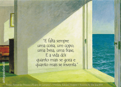 Fernando Pessoa e Edward Hopper