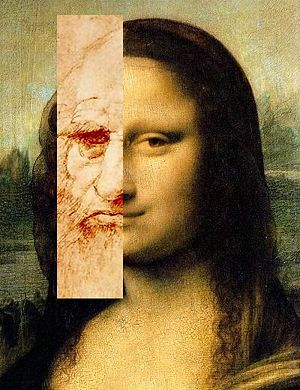 Manalisa e leonardo Da Vinci de lilian schawartz