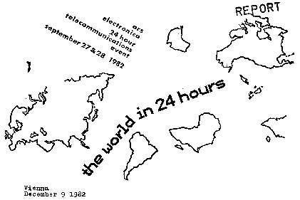 O mundo em 24 horas Arte digital