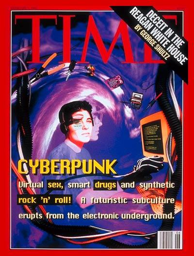 Cyberpunks na Revista Time em Fevereiro de 1993