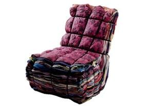 o sofá reciclável