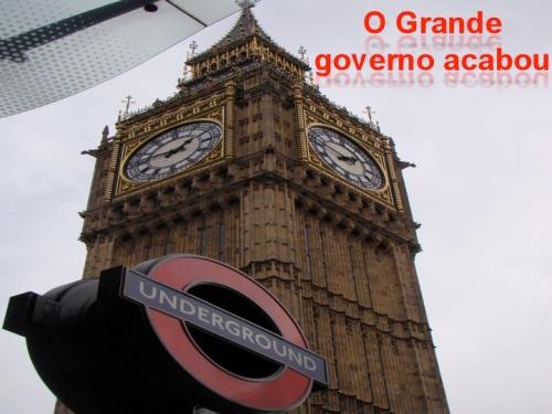 o grande governo acabou