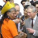 O indio e principe charles
