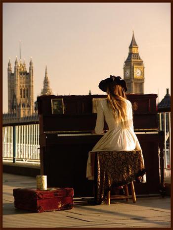 Pianista em Londres