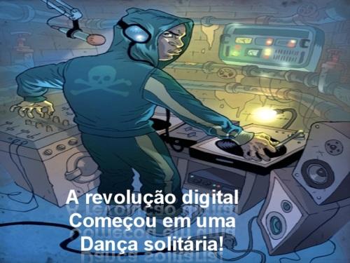 A festa digital