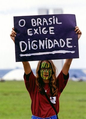 O Brasil exige dignidade